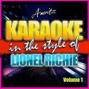 Karaoke - Lionel Richie Vol. 1 Songs