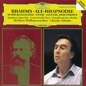 Brahms: Alto Rhapsody; Song of Destiny; Nänie; Song of the Fates Songs