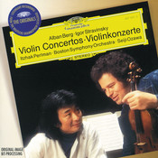 Berg / Stravinsky: Violin Concertos Songs