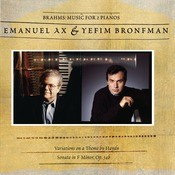 Brahms: Sonata For Two Pianos; Variations On A Theme By Haydn Songs