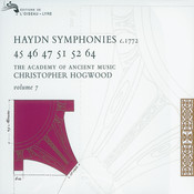 Haydn: Symphonies Vol. 7 Songs