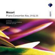 Mozart : Piano Concertos Nos 19 & 25  -  Apex Songs