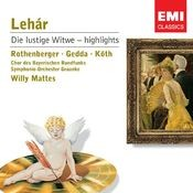 Lehar: Die lustige Witwe - Highlights Songs