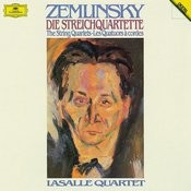 Zemlinsky The String Quartets Songs