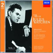 The Art Of Julius Katchen Vol 3 Songs
