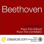 Ludwig Van Beethoven, Piano Trio No. 4 In D, Op. 70 No. 1 (Ghost) Songs