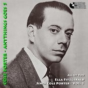 Ella Fitzgerald Sings Cole Porter Volume 1 Songs
