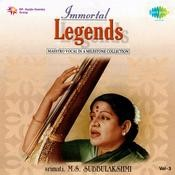 Immortal Legend M S Subbulakshmi Vol 3 Songs