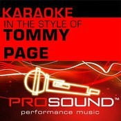 I'll Be Your Everything (Karaoke Instrumental Track)[In The Style Of Tommy Page] Song