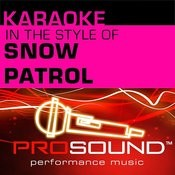 Chasing Cars (Karaoke With Background Vocals)[In The Style Of Snow Patrol] Song