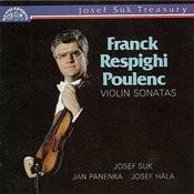 Franck, Respighi, Poulenc: Violin Sonatas Songs