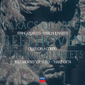 Beethoven: The Middle Quartets Songs