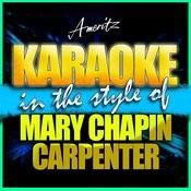 Karaoke - Mary Chapin Carpenter Songs