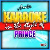 Karaoke - Prince Vol. 2 Songs