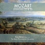 Mozart: Symphonies 32 & 35 Songs