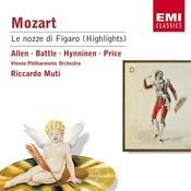 Mozart - Le nozze di Figaro (highlights) Songs