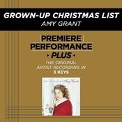 Grown-Up Christmas List (Performance Tracks) - EP Songs