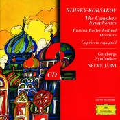 Rimsky Korsakov The Complete Symph Onies Russian Easter Capriccio Es Songs