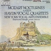 Mozart Nocturnes And Haydn Vocal Quartets Songs
