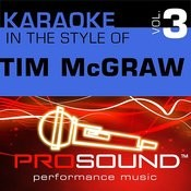 She's My Kind Of Rain (Karaoke With Background Vocals)[In The Style Of Tim Mcgraw] Song
