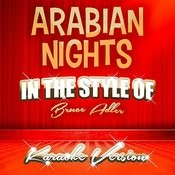 Arabian Nights (In The Style Of Bruce Adler) [Karaoke Version] - Single Songs
