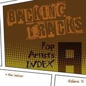 Backing Tracks / Pop Artists Index, A, (Alan Jackson), Volume 21 Songs