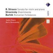 Strauss, Stravinsky & Bartók : Violin Sonatas (Apex) Songs