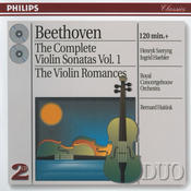 Beethoven: The Complete Violin Sonatas, Vol. I; The Violin Romances (2 CDs) Songs