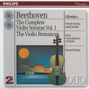 The Complete Violin Sonatas, Vol.1/The Violin Romances Songs