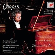 Chopin: Piano Concerto No. 1; Grande Valse Brillante; Variations On La CI Darem La Mano Songs