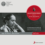 From The NCPA Archives - Gangubai Hangal Songs