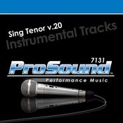 Sing Tenor v.20 Songs