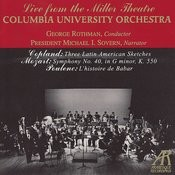 Columbia University Orchestra Plays Copland, Mozart & Poulenc Songs