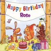 Happy Birthday Rose Songs