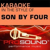 A Puro Dolor (Karaoke Instrumental Track)[In The Style Of Son By Four] Song