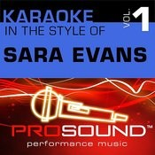 Every Little Kiss (Karaoke Instrumental Track)[In The Style Of Sara Evans] Song