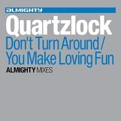 Almighty Presents: Don't Turn Around/You Make Loving Fun Songs