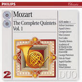 Mozart: The Complete Quintets, Vol. 1 (2 CDs) Songs