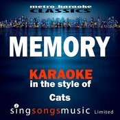 Memory (In The Style Of Cats The Musical) [Karaoke Version] - Single Songs