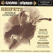 Bach: Concerto For Two Violins/Mozart: Sinfonia Concertante/Brahms: Double Concerto Songs