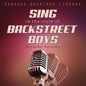 Sing In The Style Of Backstreet Boys (Karaoke Version) Songs