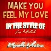 Make You Feel My Love (In The Style Of Lea Michele) [Karaoke Version] - Single Songs