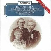 Edvard Grieg: Complete String Quartets Songs