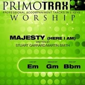 Majesty - Here I Am (Worship Primotrax) [Performance Tracks] - EP Songs
