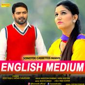 English Medium ft. Sapna Choudhary Song