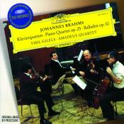 Brahms Quartet No 1 In G Minor Op 25 4 Ballades Op 10 Songs