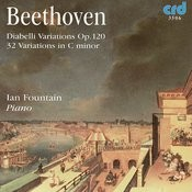 Beethoven: Diabelli Variations Op.120 / 32 Variations In C Minor Songs