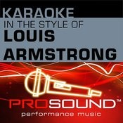 A Kiss To Build A Dream On (Karaoke Lead Vocal Demo)[In The Style Of Louis Armstrong] Song