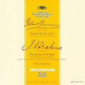 Schumann: Fantasie, Op.17 / Brahms: Variations and Fugue on a Theme by Handel, Op.24 Songs