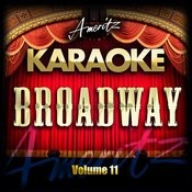 Karaoke - Broadway Vol. 11 Songs